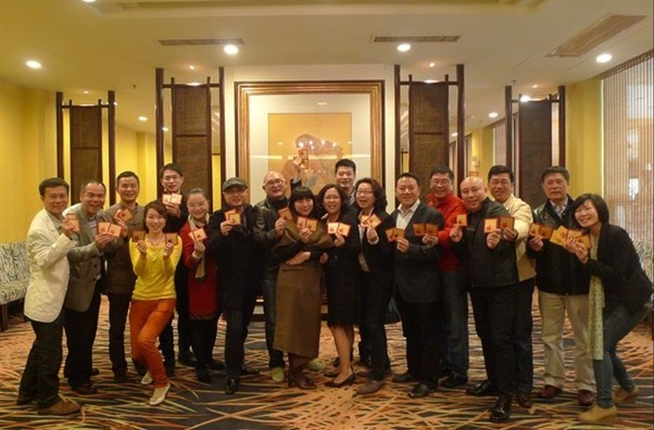 中山大学高教院博学MBA同学会2013新春团拜